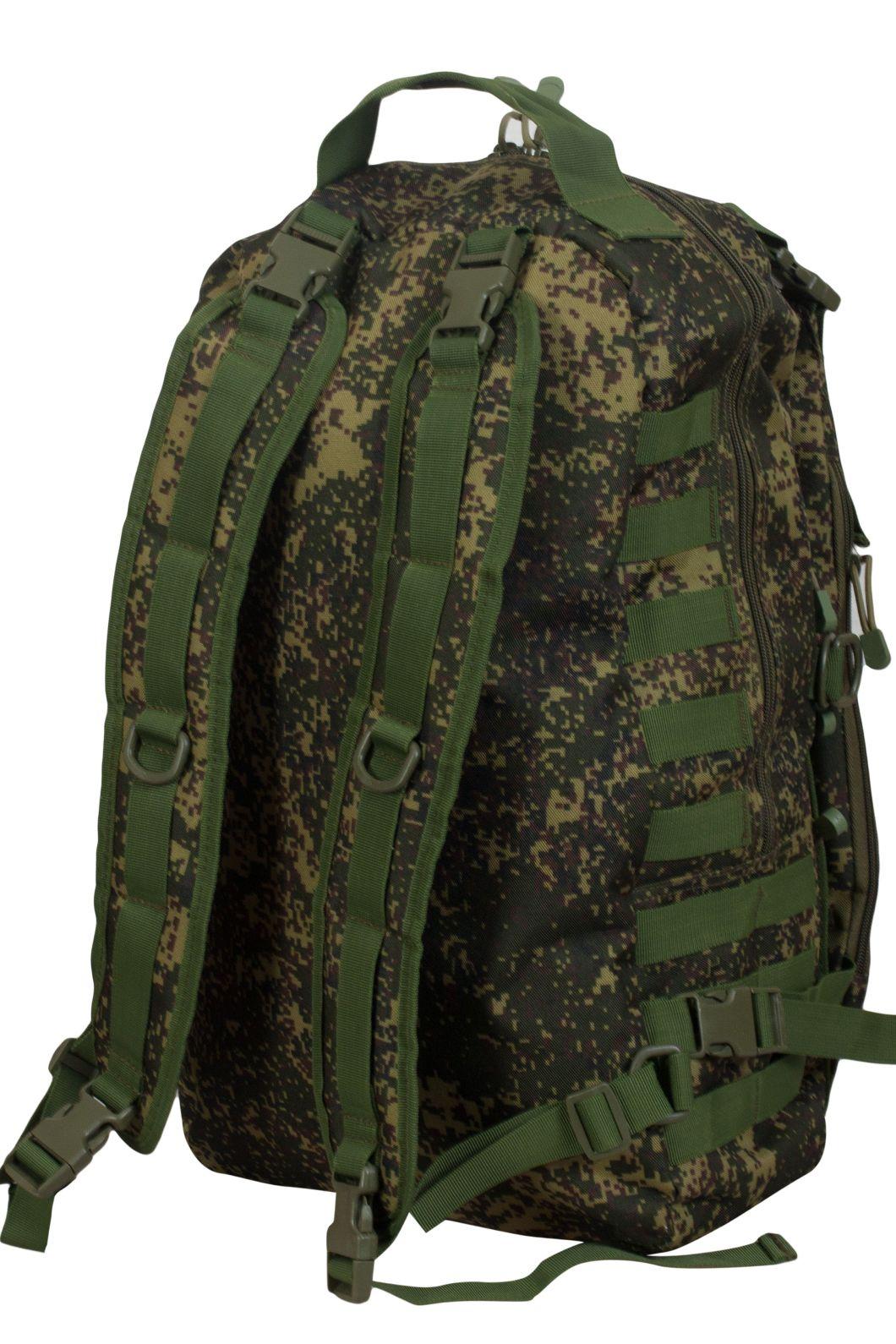 Надежный мужской рюкзак с нашивкой Ни Пуха ни Пера - купить в подарок