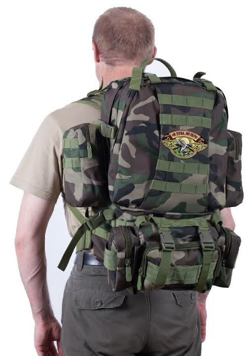 Охотничий мужской рюкзак US Assault НИ ПУХА, НИ ПЕРА! - заказать в подарок
