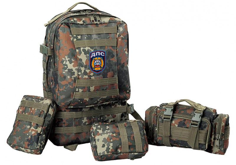 Тактический надежный рюкзак с нашивкой ДПС - заказать в розницу