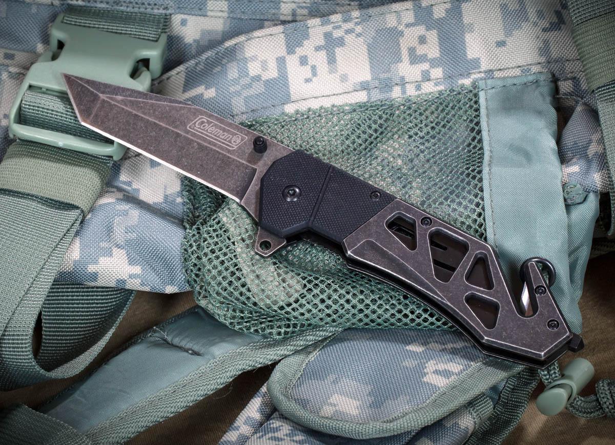 Тактический нож Coleman CM1016 Liner Lock