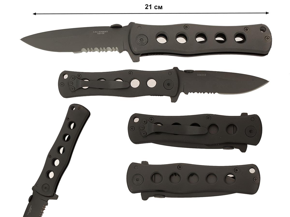 Тактический нож Herbertz Taschenmesser 114112 (Германия)