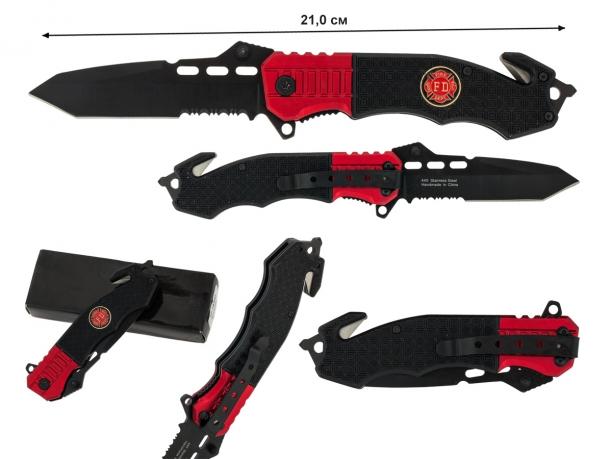 Тактический нож МЧС FD Tanto Glassbreaker