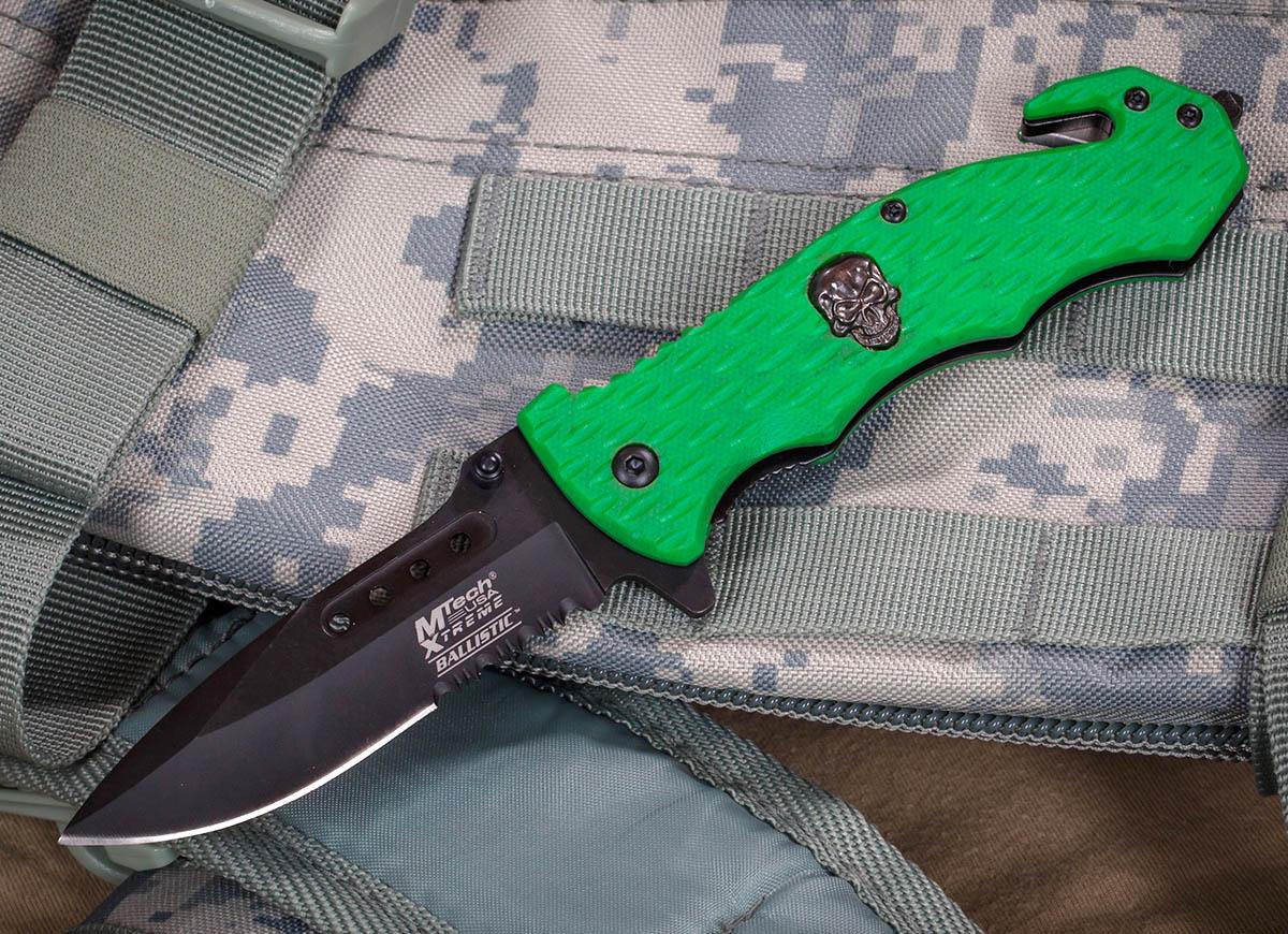 Тактический нож Mtech Extreme MX-A803GR - заказать онлайн