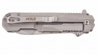 Тактический нож «МВД - Наша служба и опасна и трудна»