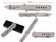 Тактический нож «Пограничные войска - Хранить державу долг и честь»