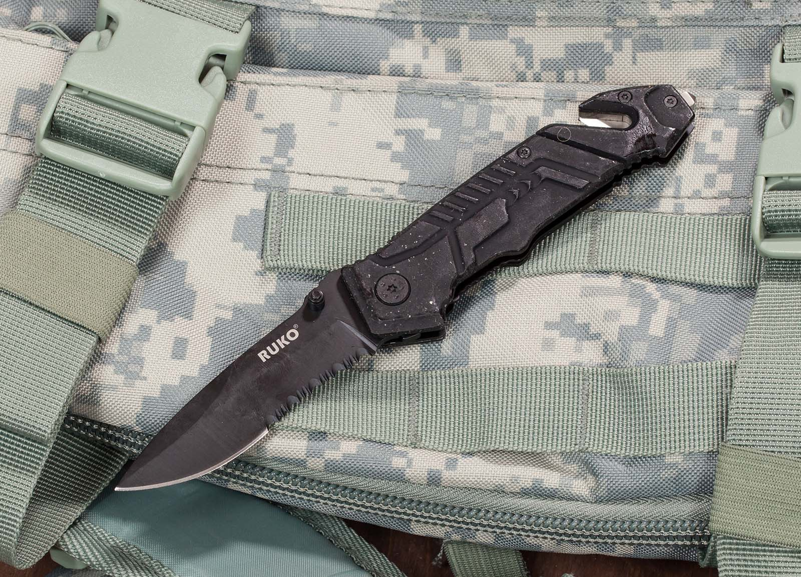 Тактический нож Ruko® Shark® 0144 Rescue Knife (Канада) - заказать оптом