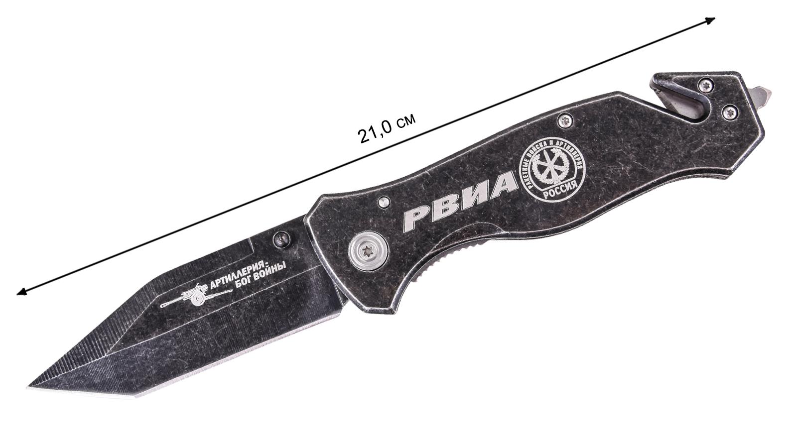 """Тактический складной нож """"РВИА"""" - размер"""