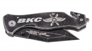 Складной тактический нож с символикой ВКС