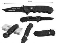 Тактический нож с титановым покрытием и серрейтором RUI K25 Predator RK-19099 (Испания)
