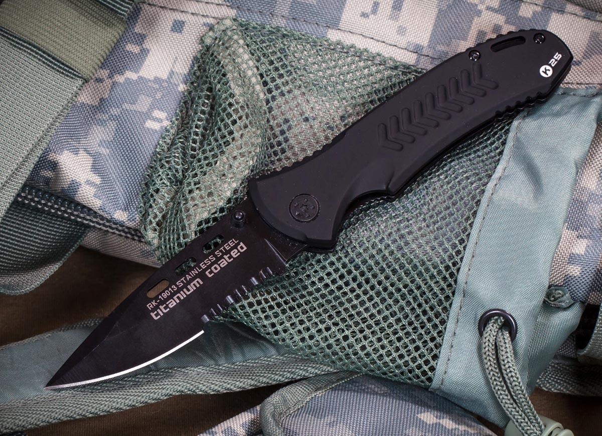 Тактический нож с титановым покрытием RUI K25 RK-19013 (Испания)