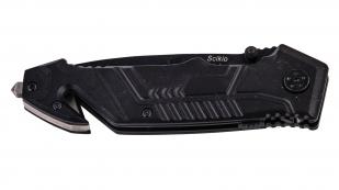 Тактический нож со стеклобоем и стропорезом Scikio Tactical BFO 16286