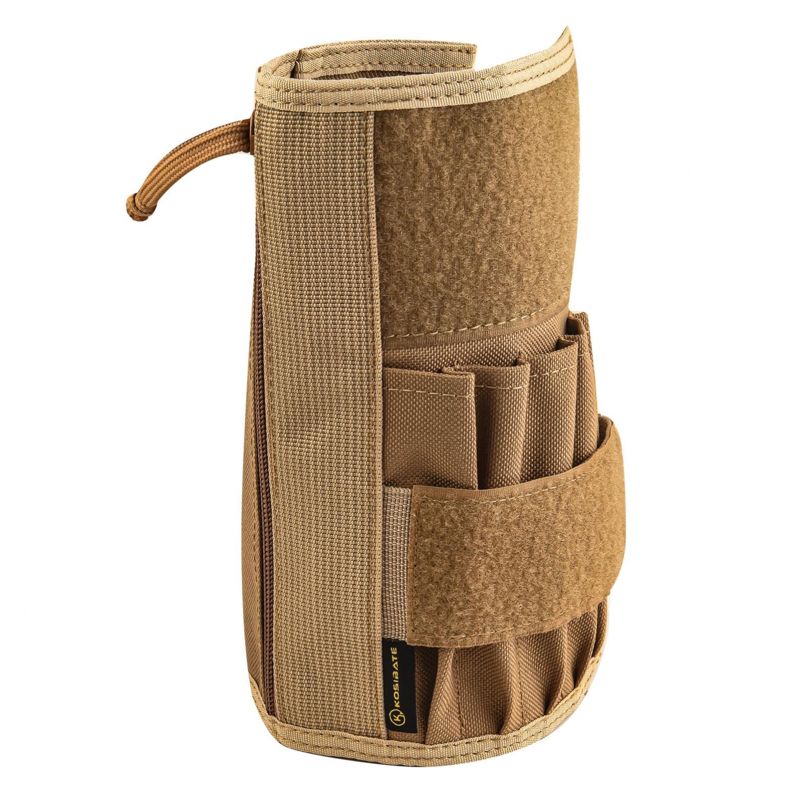 Тактический органайзер Kosibate для блокнота и аксессуаров (койот)