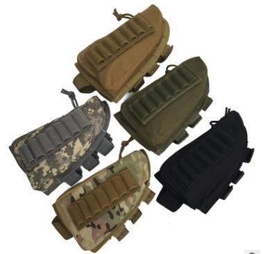 Тактический патронташ под 12 патронов различного калибра (олива)