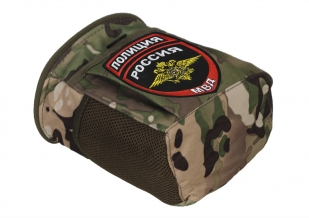 Тактический подсумок для фляги с нашивкой Полиция России - купить выгодно