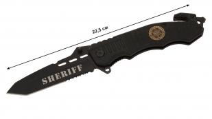 Тактический полицейский нож Sheriff Tanto Rescue Folder - купить онлайн