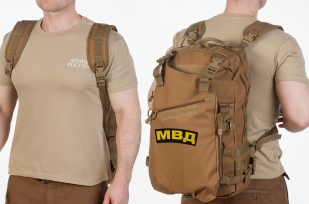 Тактический рейдовый рюкзак с нашивкой МВД - купить в подарок