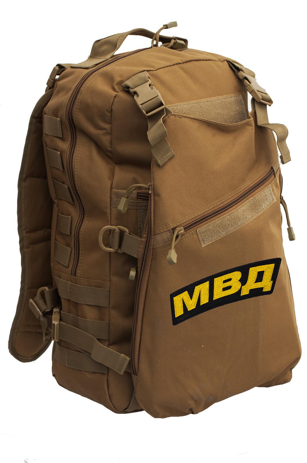 Тактический рейдовый рюкзак с нашивкой МВД - купить выгодно