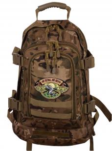 Охотничий рейдовый рюкзак с нашивкой Ни Пуха ни Пера - заказать в подарок