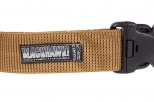 Тактический ремень Blackhawk хаки-песок-логитип