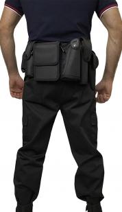 Тактический ремень полиции и спецслужб (черный)
