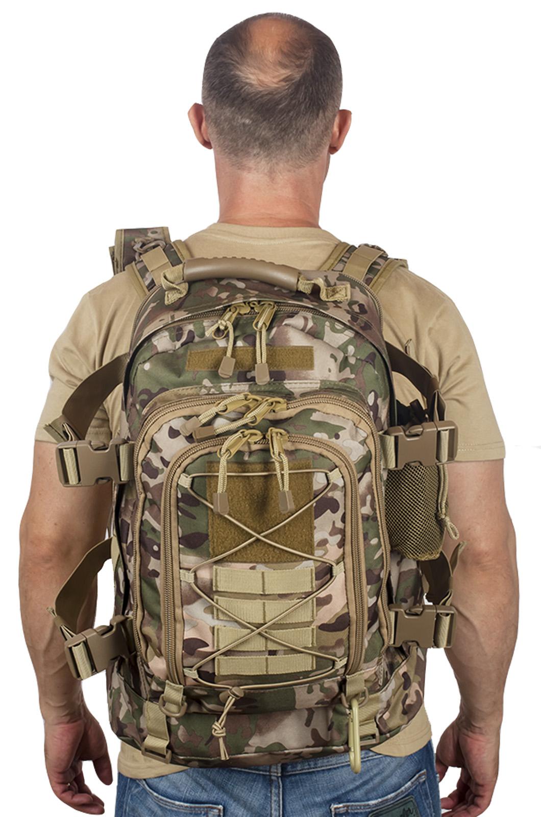 Тактический рюкзак 40 литров с отделением для гидратора 3-Day Expandable Backpack OCP