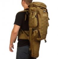Тактический рюкзак 9.11 (хаки-песок, 75 л)