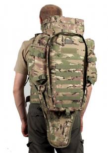 Рюкзак с чехлом для ружья камуфляж Multicam