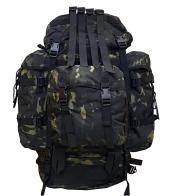 Тактический рюкзак большого объема (100 литров, Black Multicam)