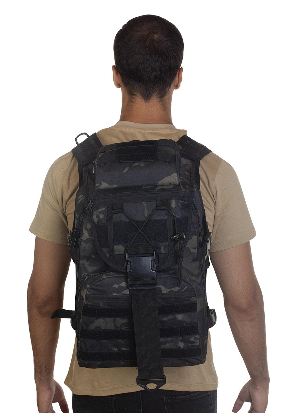 Тактический рюкзак камуфляжа Black Multicam с доставкой