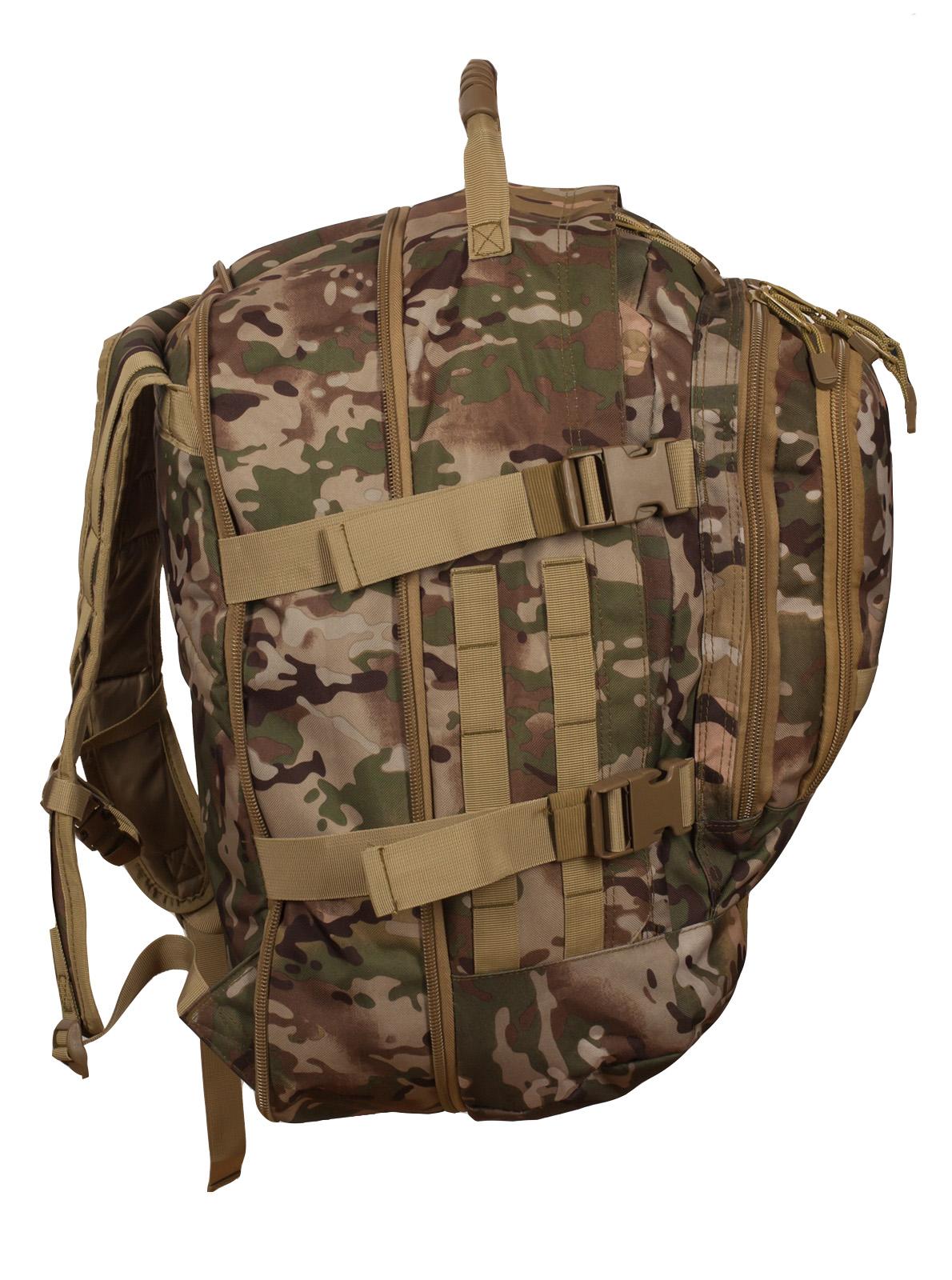 """Тактический рюкзак разведчика 3-Day Expandable Backpack 08002B Multicam с эмблемой """"Россия"""" оптом в Военпро"""