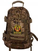 Тактический рюкзак разведчика 3-Day Expandable Backpack 08002B Multicam с эмблемой СССР
