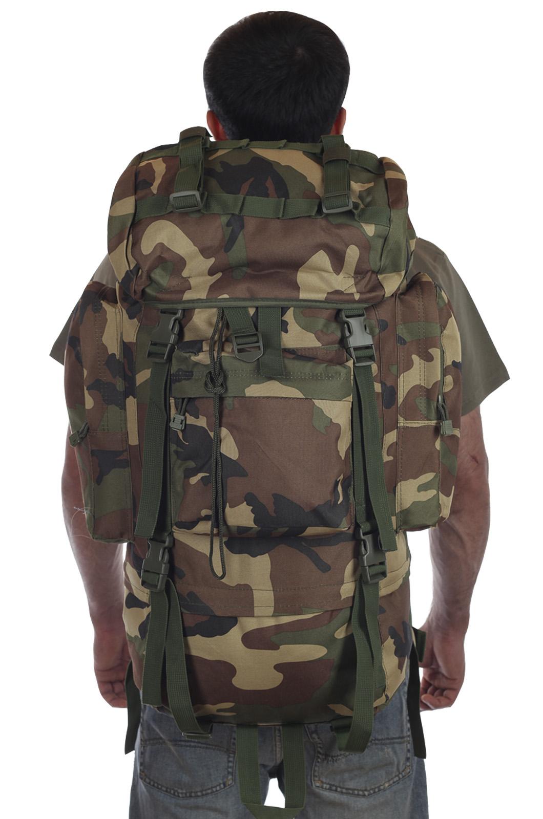 Тактический рюкзак рейдовый камуфляж CCE вместительный