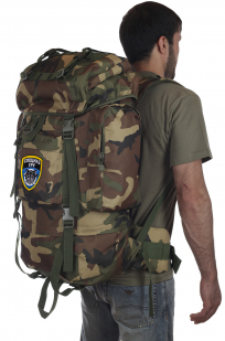 Тактический рюкзак с клапаном и нашивкой Спецназ ГРУ