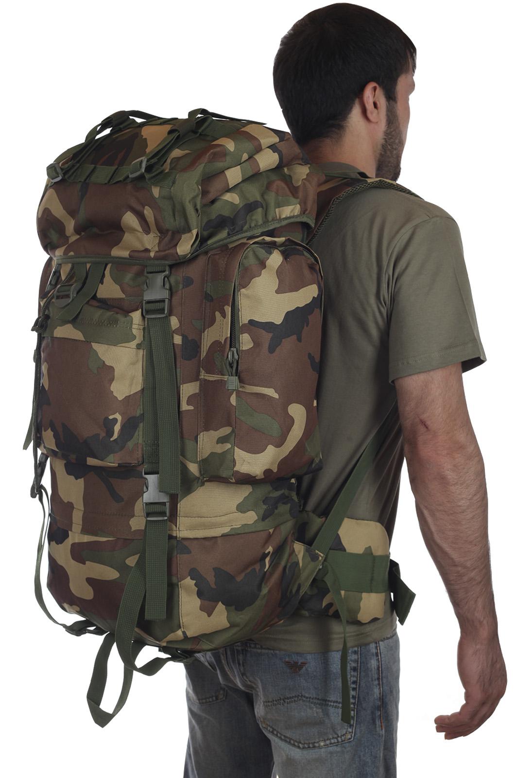 Тактический рюкзак рейдовый камуфляж CCE на 60 литров