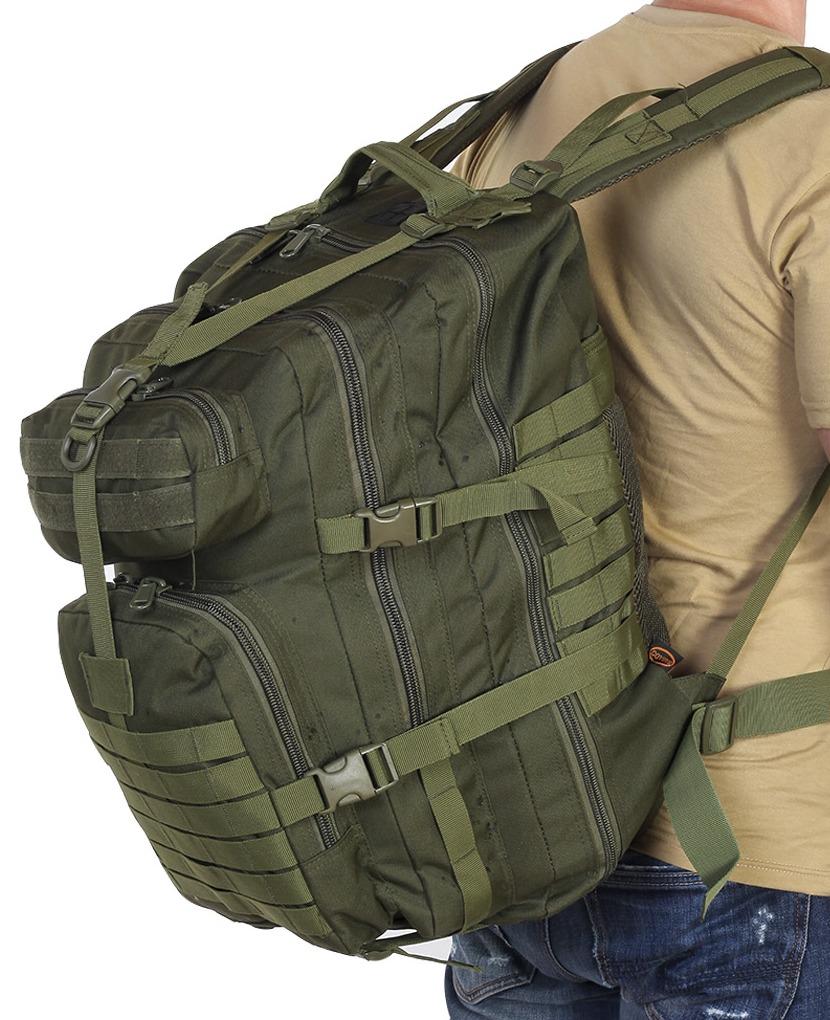 Тактический рюкзак рыбакам и охотникам 40 л
