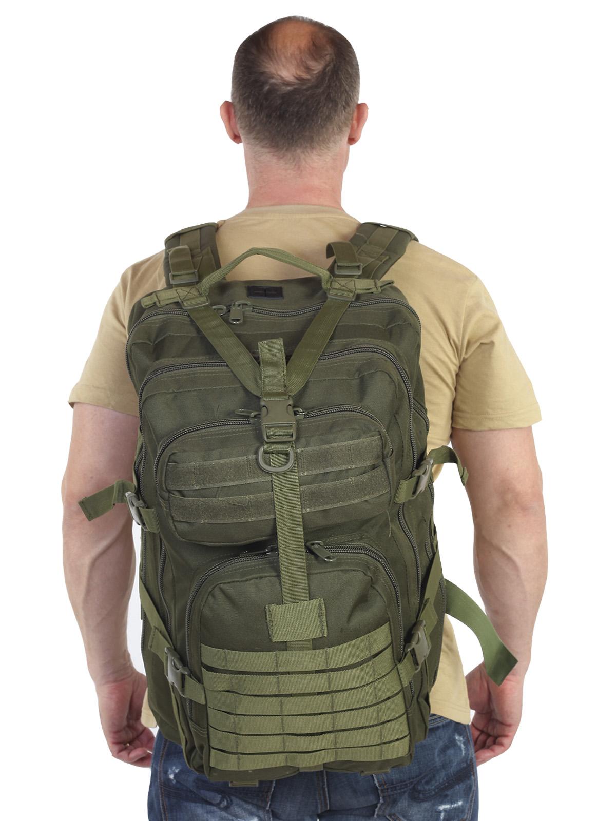 Тактический рюкзак рыбакам и охотникам (40 л)