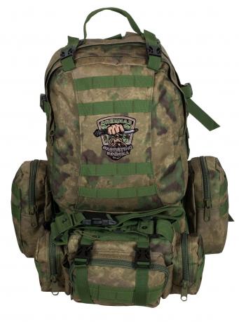 Тактический рюкзак с подсумком с нашивкой для охотников