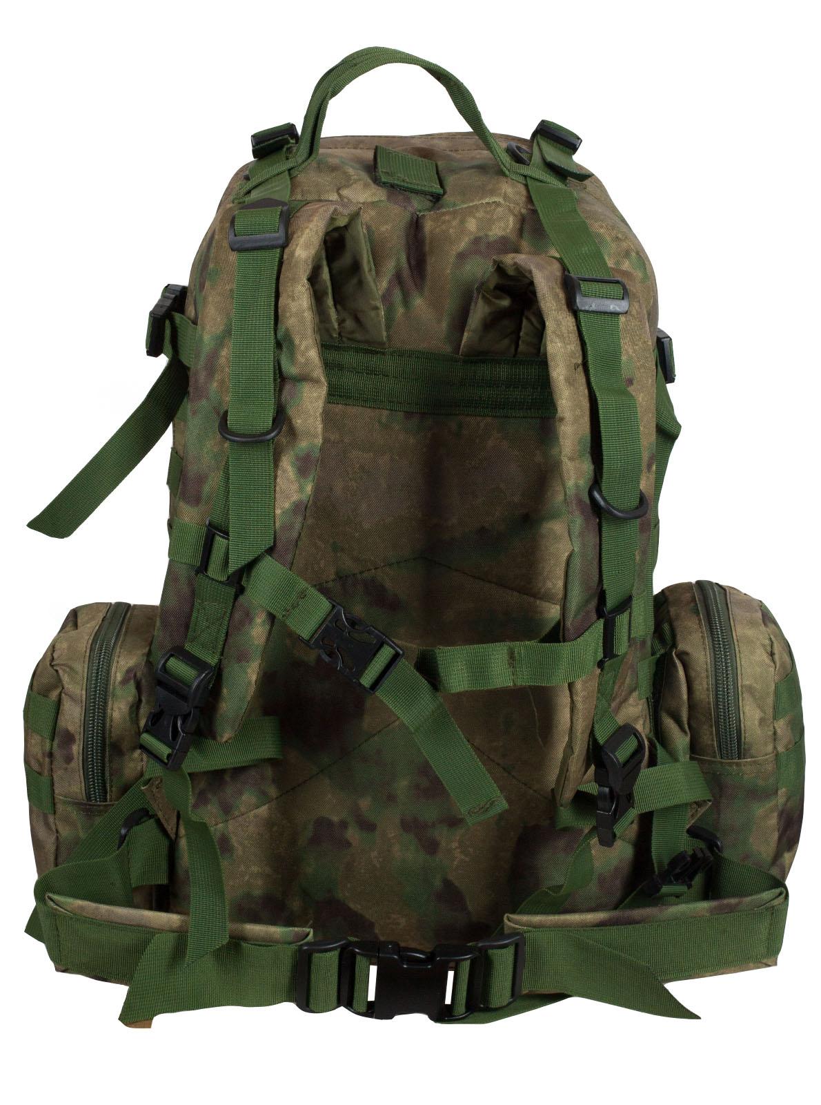 Заказать тактический рюкзак с подсумком с нашивкой для охотников