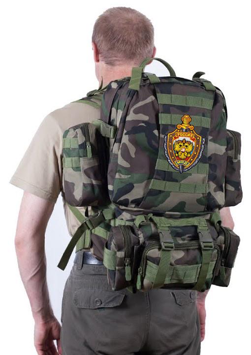 Тактический рюкзак US Assault французский камуфляж с эмблемой МВД заказать в Военпро
