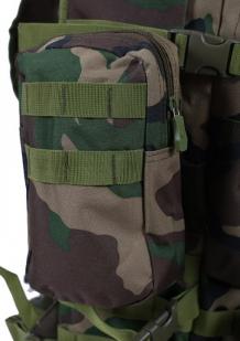 """Тактический рюкзак US Assault французский камуфляж с эмблемой """"Россия"""""""