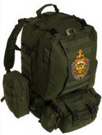 Тактический рюкзак US Assault хаки-олива с эмблемой МВД
