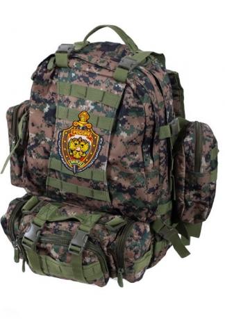 Тактический рюкзак US Assault камуфляж Marpat с эмблемой МВД