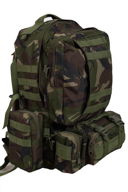 Тактический рюкзак US Assault камуфляж Woodland