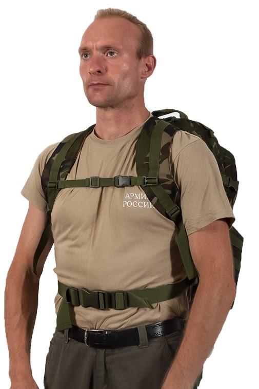 Тактический рюкзак US Assault камуфляж Woodland с эмблемой МВД заказать в Военпро