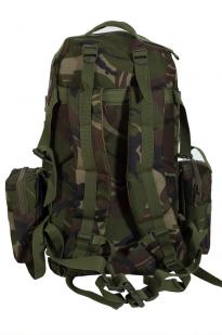 Тактический рюкзак US Assault камуфляж Woodland с эмблемой МВД оптом в Военпро