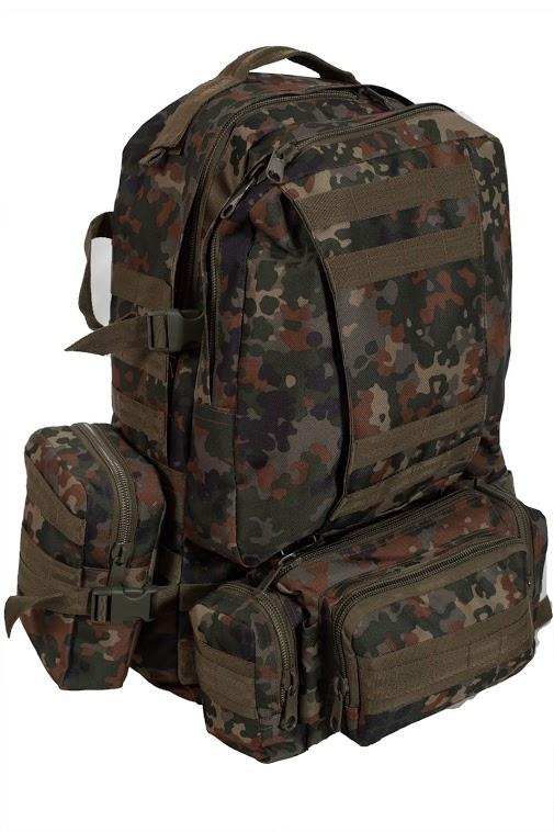 Купить тактический рюкзак US Assault немецкий камуфляж по лучшей цене