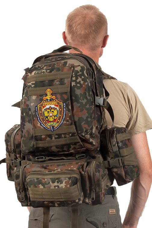 Тактический рюкзак US Assault немецкий камуфляж с эмблемой МВД заказать в Военпро