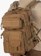 Тактический штурмовой рюкзак (хаки-песок)