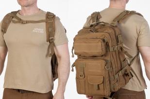 Заказать тактический штурмовой рюкзак (хаки-песок)