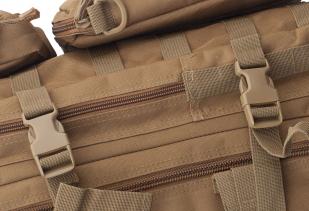 Тактический штурмовой рюкзак (хаки-песок) высокого качества